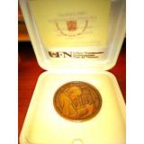 Vaticano- Medalla De Bronce Del Papa Francisco I