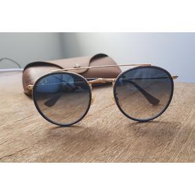 ccf24ea17fd51 Oculos Azul Degrade - Óculos De Sol Ray-Ban Round no Mercado Livre ...