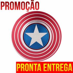 Promoção: Fidget Spinner Capitao America Metal Top Raro