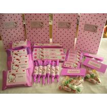 Candy Bar Completo 30 Chicos+centros Mesa+bolsitas+pinchos