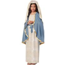 Disfraz D/virgen María Bíblico California Costumes Niño Xl