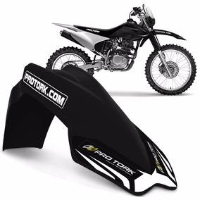 Paralama Dianteiro Universal Pro Tork Mx2 Motocross Preto