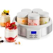Yogurtera Atma Digital 7 Jarros De Vidrio Recetario Hot Sale