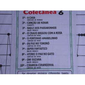 Partitura Coletânea Nº 06 Para Cítara Mini Harpa10 Partitura