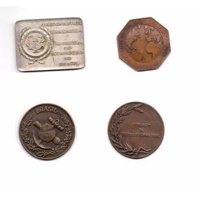 Coleção De Quatro Medalhões