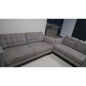 Vendo Sofas 3 Y 2 Puestos Beige Claro