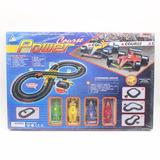 Pista Metal De Autos Formula 1 Con Control + 4 Autos