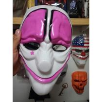 X1 Mascara Plastico Duro Fuerte Payday Hoxton Juegos Jodas V