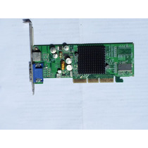 Placa De Video Gforce4 Mx-4000 Agp 64mb