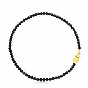 Tous Collar Oro Y Onix Negro 100% Original Y Nuevo