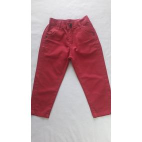 Calça Infantil Menino Sarja Centauro Vermelha Have Fun Hf0