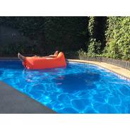 Sofa Inflable Relax Bag Pillow Pro 300t Nylon Orange