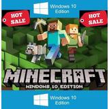 Juego Minecraft Windows 10 Completo Codigo 25 Digitos