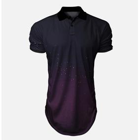 Camisa Polo Roxa - Pólos Manga Curta Masculinas no Mercado Livre Brasil 66b9614007c58