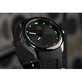Calvin Klein Reloj Hombre K2v214dx Visible Negro Verde