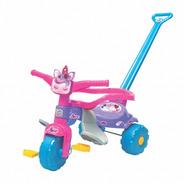 Triciclo Motoca Infantil Tico Tico Uni Love Com Luz
