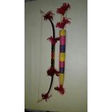 Arco E Flecha Artesanal Indígena - Penas Rosas
