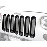Parrilla Frontal Jeep Wrangler Opar Grille Inserts Mate