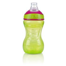 Nuby - Vaso Antiderrames Con Boquilla Suave 10oz