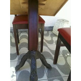 Mesas De Restaurante Em Madeira Com Cadeiras Acolchoadas