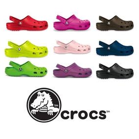 Crocs Clasico Sueco De Goma Sandalia Hombre Mujer Original