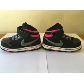 Tenis Nike Cano Alto Infantil 21 6c 12cm Original