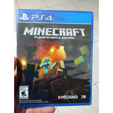 Minecraft Para Ps4 Nuevo Y Sellado En D3 Gamers
