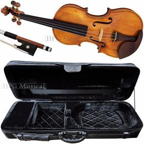 Violino Rolim Master Claro Estojo Kloss Preto Arco Octogonal