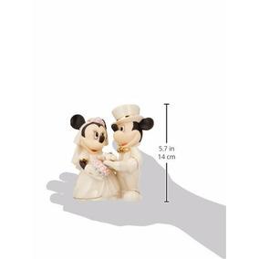 Minnie Figura De Novios Porcelana Mimi Y Mickey Mouse Figura