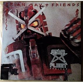 Lp Bryan May Starfleet Project + Friends Com Encarte Queen