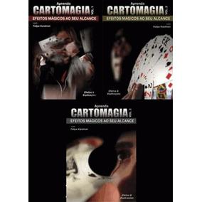 Dvd Aprenda Cartomagia Combo Vol.1, Vol.2 E Vol.3