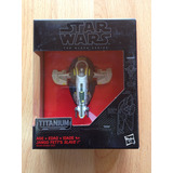 Star Wars Nave Titanium Black Series # 27 Jango Fett Slave 1
