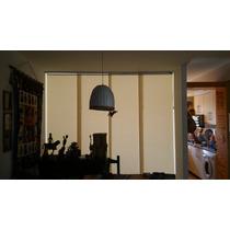 Panel Oriental Screen Black Out Estores Instalacion