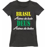 Camiseta Brasil Infantil Azul no Mercado Livre Brasil b3bb9d0540fde
