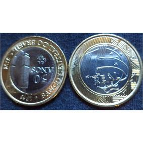 Moeda 1 Real Fc Comemorativa Aos 50 Anos Banco Central Do Br