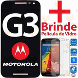 Tela Touch Display Lcd Frontal Moto G3 + Pelicula