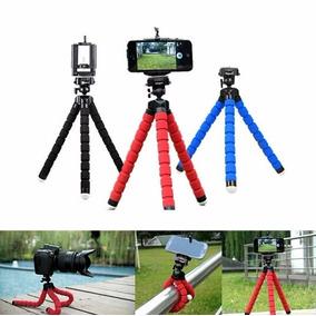 Tripé Flexível Gopro Tripod Suporte Para Celular E Câmera