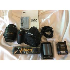 Cuerpo Nikon D90, Lente Y Accesorios Menos De 10000 Disparos