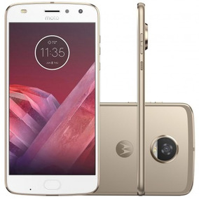 Motorola Moto Z2 Play 64gb Power Edition Xt1710 Ouro 2 Chips