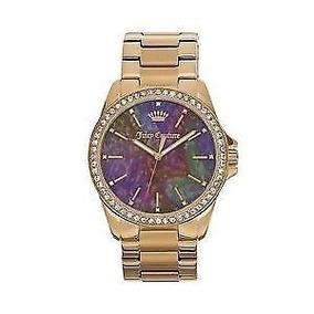 Reloj Juicy Couture Dorado Original
