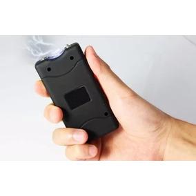 Arma Choque Taser Lanterna Tática Recarregável