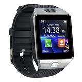 Smartwatch Dz09 Relógio Celular Chip 4g Micro Sd Mp3