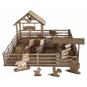 Mini Fazendinha Brinquedo Infantil Menino
