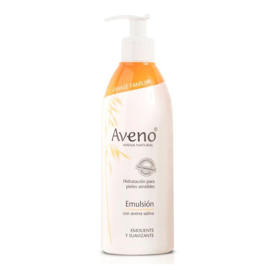 Aveno Emulsión 400ml Avena Natural Pieles Sensibles Original