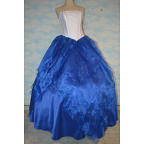 Vestido De 15 Años - Color A Elección - Confección A Medida