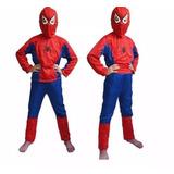 Fantasia Infantil Homem Aranha Spiderman Frete Grátis