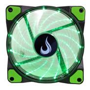 Cooler Gamer Fan Rise Mode Wind Led Verde Galaxy