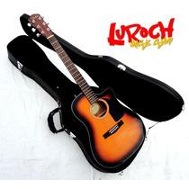 Fender Guitarra Electroacústica Estuche Ecualizador Fishman