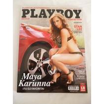 Revista Playboy N° 145 Maya Karunna Noviembre 2014