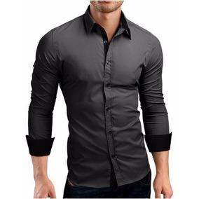 Camisa Social Slim Fit Estilo Boutique Ocidental